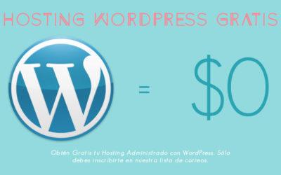 Hosting con WordPress Gratis