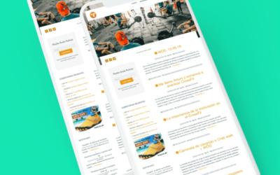Diseño Autoadministrable de un blog de CrossFit