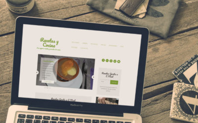 Diseño Autadministrable de Blog de Recetas